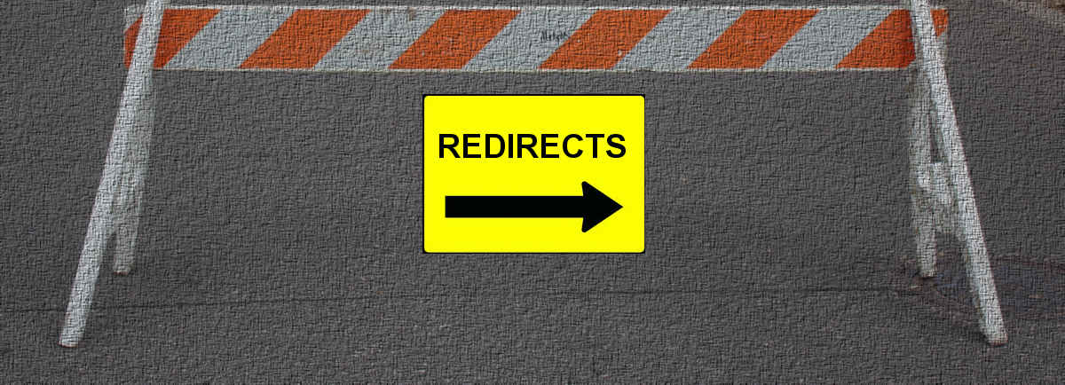 redirects pavement
