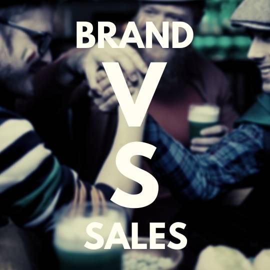 brand verses sales