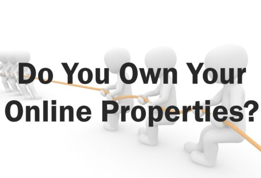 do you own your online properties