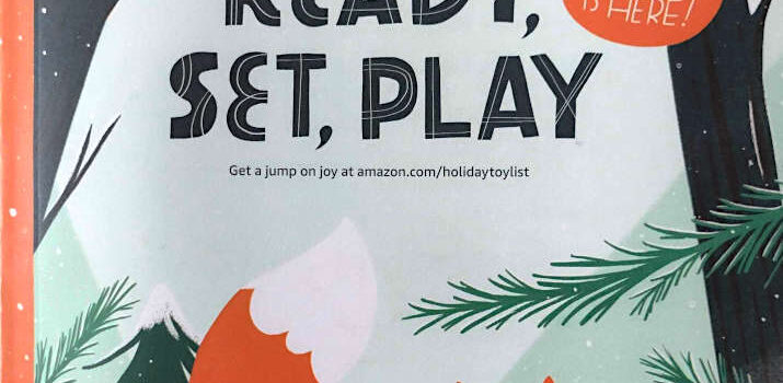 The New 2021 Amazon Toy Catalog has started to Arrive