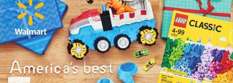Walmart 2020 Printed Toy Catalog Has Shipped
