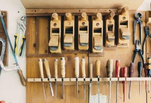 tools organized