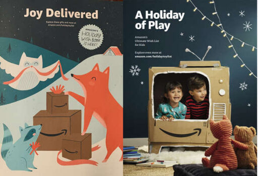 amazon Christmas catalogs