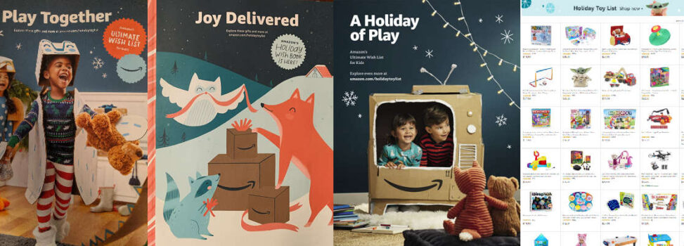Amazon Joy Delivered Holiday Toy Catalog
