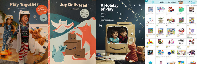 Amazon Joy Delivered Holiday Toy Catalog
