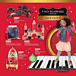 fao schwarz target catalog