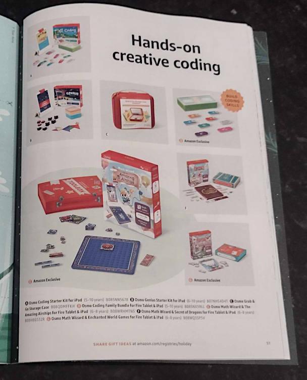 hands-on creative coding amazon catalog