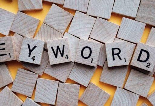 scrabble tiles keywords