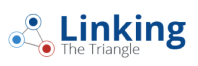 linking the triangle logo