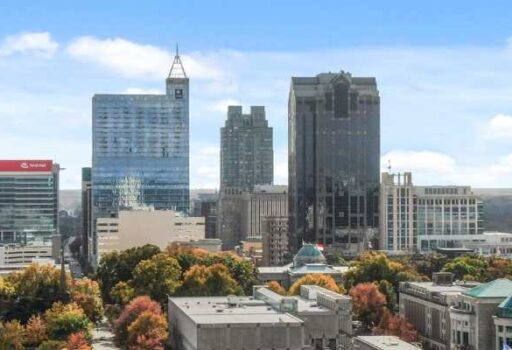 raleigh downtown buildings