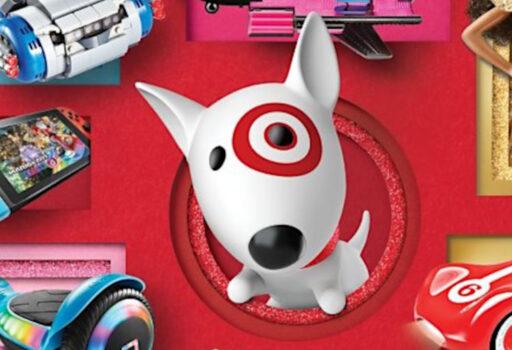 target top toy list header
