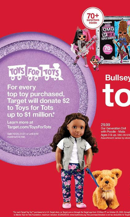 toys for tots page target catalog