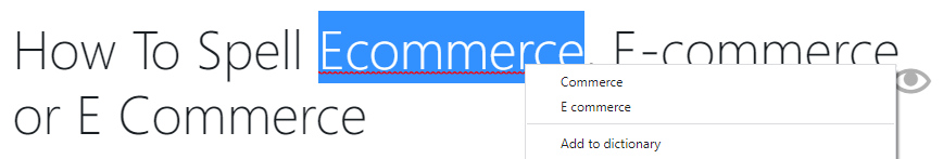 wordpress auto suggest e commerce